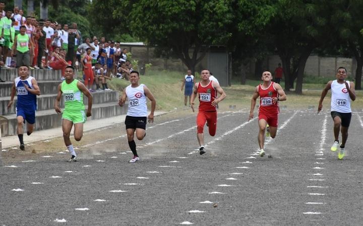 Inauguran campeonato de atletismo delEjército