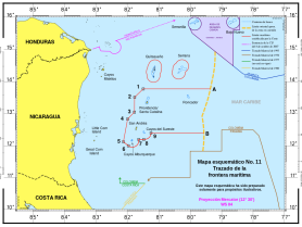 ICJ_Territorial_and_Maritime_Dispute_(Nicaragua_v._Colombia)_Course_of_the_maritime_boundary_(es).svg