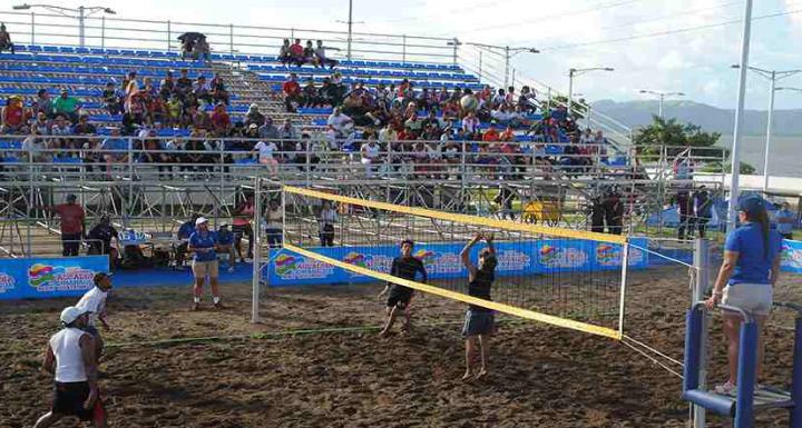 Alcaldía de Managua organiza Open Voleibol de Playa en el PaseoXolotlán