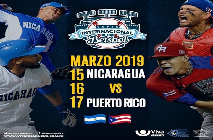 Nicaragua acogerá en el 2019 otra Serie Internacional deBéisbol