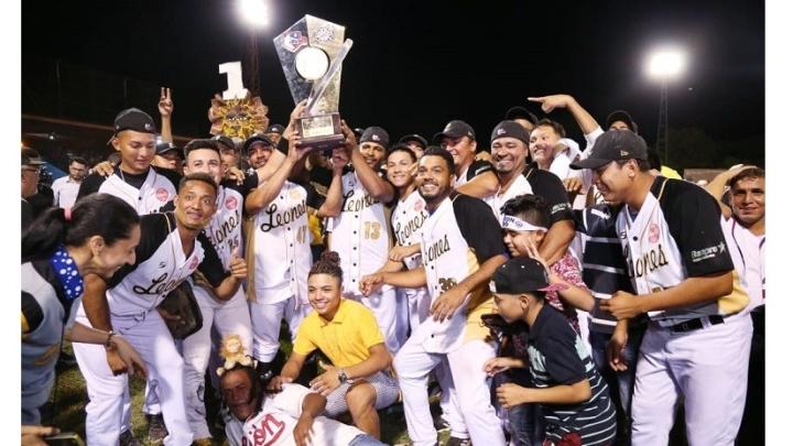 León se corona tricampeón de la Liga de Béisbol ProfesionalNacional