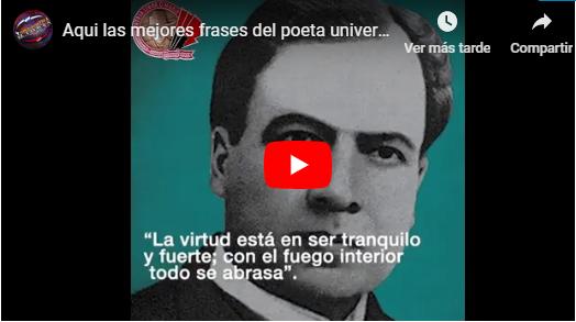 Aqui las mejores frases del poeta universal Ruben Dario en sus 152 años denatalicio!!