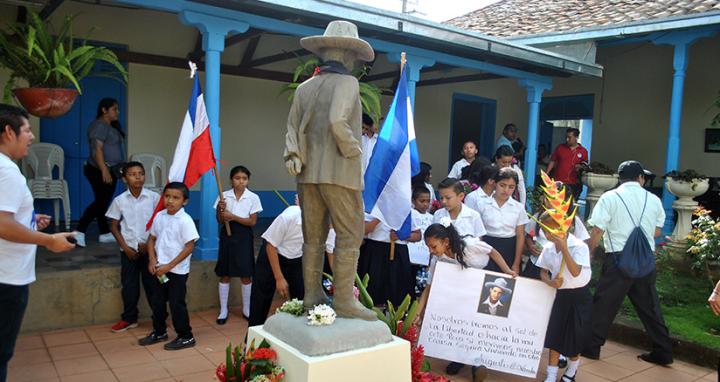 Inician actividades conmemorativas del 85 aniversario del tránsito a la inmortalidad del General Augusto C.Sandino