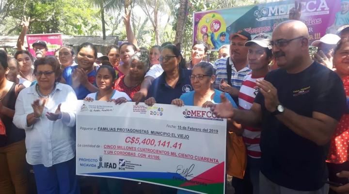 "GOBIERNO SANDINISTA DESTINA MÁS 5 MILLONES DE CÓRDOBAS A FAMILIAS DE ""ELVIEJO"""