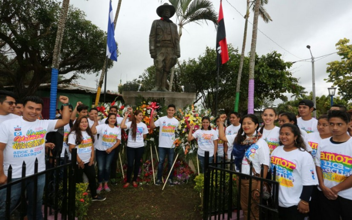 Nicaragua inicia jornada de homenaje al General Augusto C.Sandino