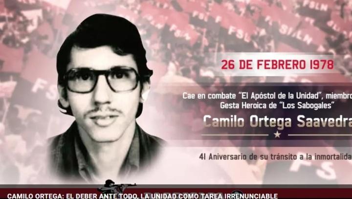 CAMILO ORTEGA: EL DEBER ANTE TODO, LA UNIDAD COMO TAREAIRRENUNCIABLE