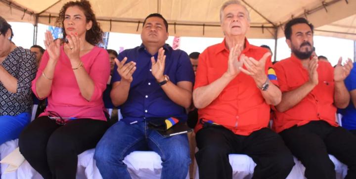 JUVENTUD SANDINISTA CONMEMORA DIGNIDAD DEL PUEBLOVENEZOLANO
