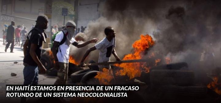 HAITÍ ESTÁ ANTE EL FIN DE UN RÉGIMENNEOCOLONIAL