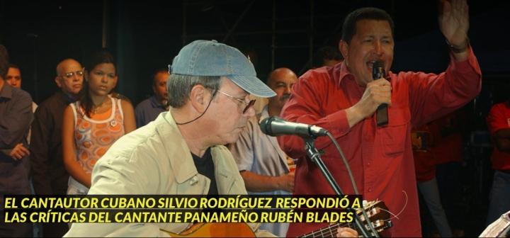 SILVIO RODRÍGUEZ DEFIENDE LA REVOLUCIÓN DEVENEZUELA