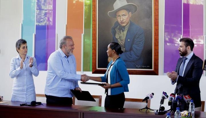 Nicaragua y Cuba firman acuerdo de cooperación turística