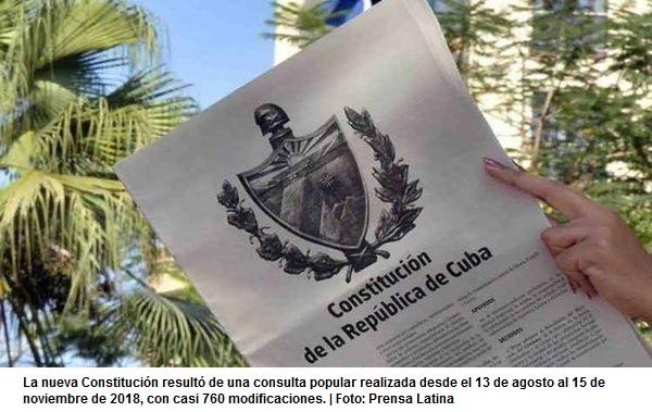 Cuba proclama su nueva Constitución este 10 deabril