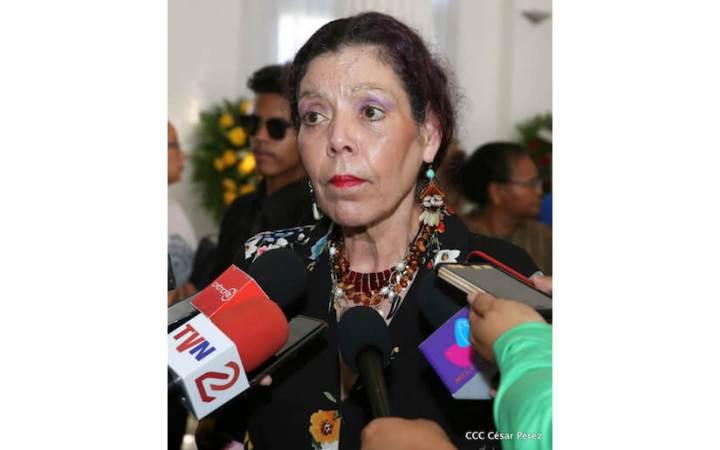 Compañera Rosario Murillo destaca el invaluable legado de RaúlVenerio