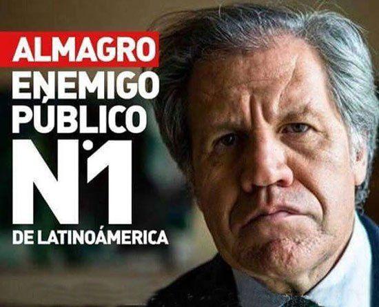 ALMAGRO ES UNA VERGUENZA PARA LAS ORGANIZACIONES SINDICALES DE URUGUAY,  Secretario general de confetrajun Carlos López y OteloLópez
