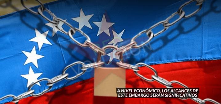 EXPLICACIÓN: EMBARGO DE ESTADOS UNIDOS A VENEZUELA EN 8PUNTOS