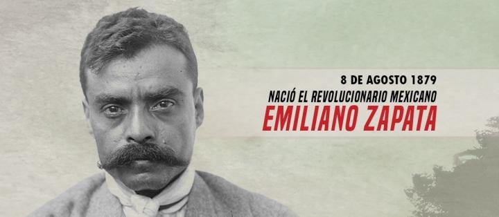 Emiliano Zapata, símbolo de luchas antiimperialistas ylibertarias