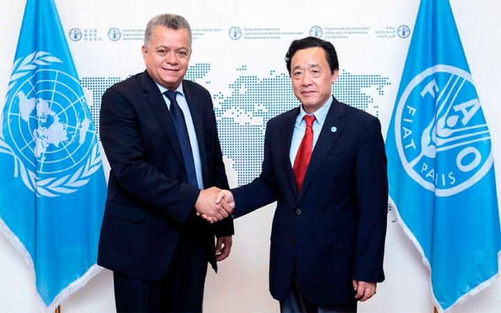 Ministro Edward Centeno sostiene encuentro con el Director de la FAO; #OCTUBREORGULLONICA #TEAMONICARAGUA #SOMOCISMONUNCAMAS #FNTNNIUNPASOATRAS #ELTAYACANVENCEDO