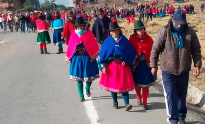 Ecuador: Comunidad indígena se sumará a las protestas en Quito    #SOMOCISMONUNCAMAS #FNTNNIUNPASOATRAS #PATRIAPARATODOS #TEAMONICARAGUA #AMORYPAZNICARAGUA #NICARAGUA40REVOLUCION #ELTAYACANVENCEDOR #NIUNPASOATRAS #NICARAGUALINDA #NICARAGUATRABAJOYPAZ #NICARAGUAQUIEREPAZ #NICARAGUASANDINOSIEMPRE #FEFAMILIAYCOMUNIDAD