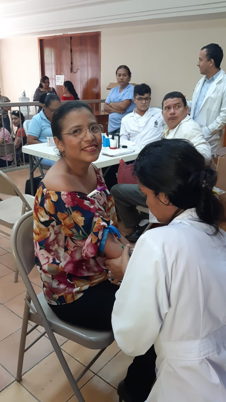 Exitosa feria de la Salud de los trabajadores judiciales del Departamento de León y sus habitantes #SOMOCISMONUNCAMAS #FNTNNIUNPASOATRAS #PATRIAPARATODOS #TEAMONICARAGUA #AMORYPAZNICARAGUA #NICARAGUA40REVOLUCION #ELTAYACANVENCEDOR #NIUNPASOATRAS #NICARAGUALINDA #NICARAGUATRABAJOYPAZ #NICARAGUAQUIEREPAZ #NICARAGUASANDINOSIEMPRE #FEFAMILIAYCOMUNIDA