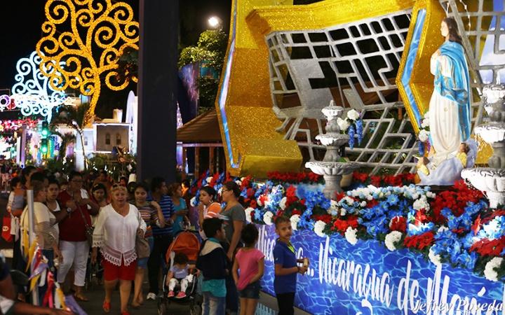 Altares a la Purísima estarán listos a finales de noviembre en la Avenida de Bolívar;#TEAMONICARAGUA #SOMOCISMONUNCAMAS #FNTNNIUNPASOATRAS #ELTAYACANVENCEDOR