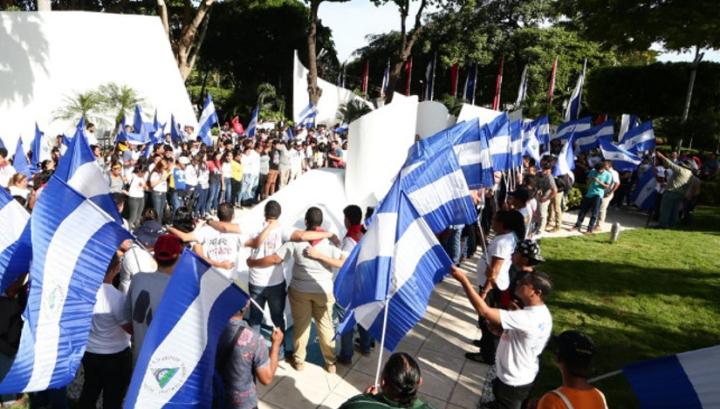 Nicaragua rinde homenaje al Comandante Carlos Fonseca; #SOMOCISMONUNCAMAS #FNTNNIUNPASOATRAS #ELTAYACANVENCEDOR