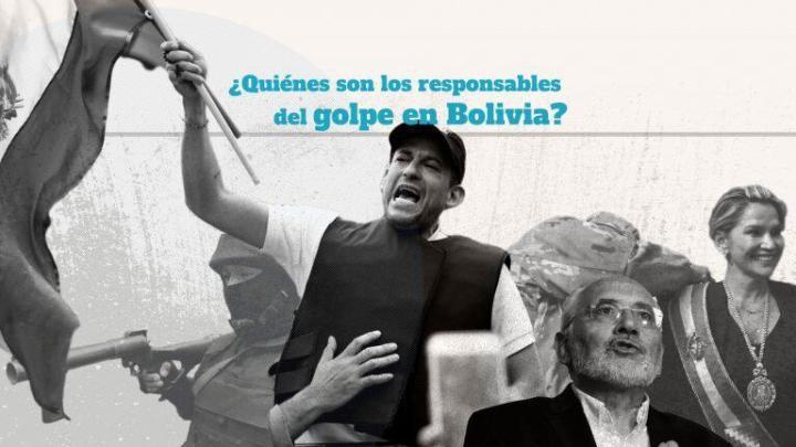 ¿Quiénes son los responsables del golpe en Bolivia?             #CONLAPAZNOSEJUEGA #ELPUEBLODEDIOSSOMOSTODOS #NOUSENADIOSCONLASMANOSSUCIAS #SOMOCISMONUNCAMAS #FNTNNIUNPASOATRAS #ELTAYACANVENCEDO