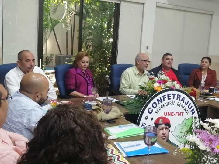 Reunión Mensual del Comite Ejecutivo Nacional de CONFETRAJUN-UNE´-FNT