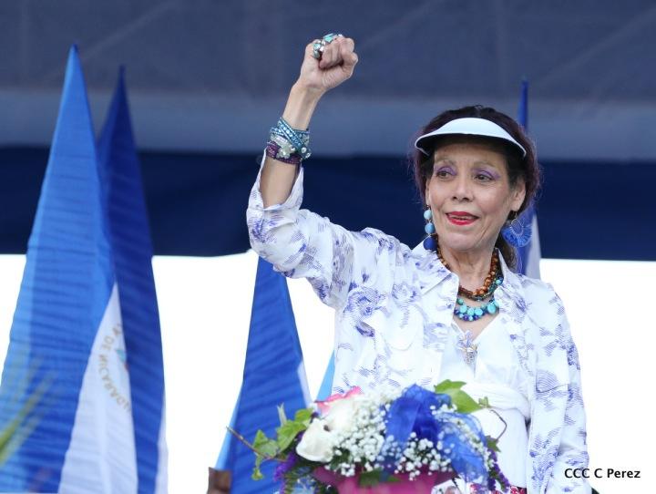 Las mujeres de Nicaragua somos valientes, trabajamos y luchamos para erradicar cualquier forma deviolencia!